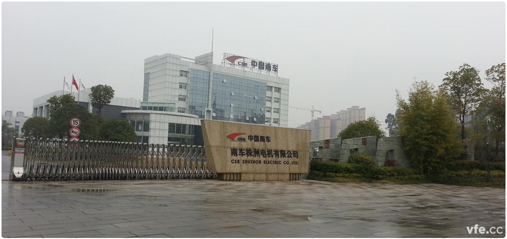 Live picture of CRRC in Zhuzhou motor traction motor of the National Laboratory Accreditation