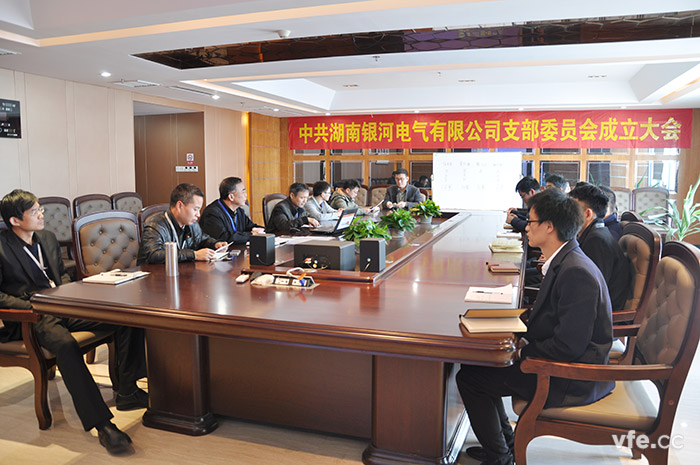 HUNAN YINHE ELECTRIC party branch was formally established